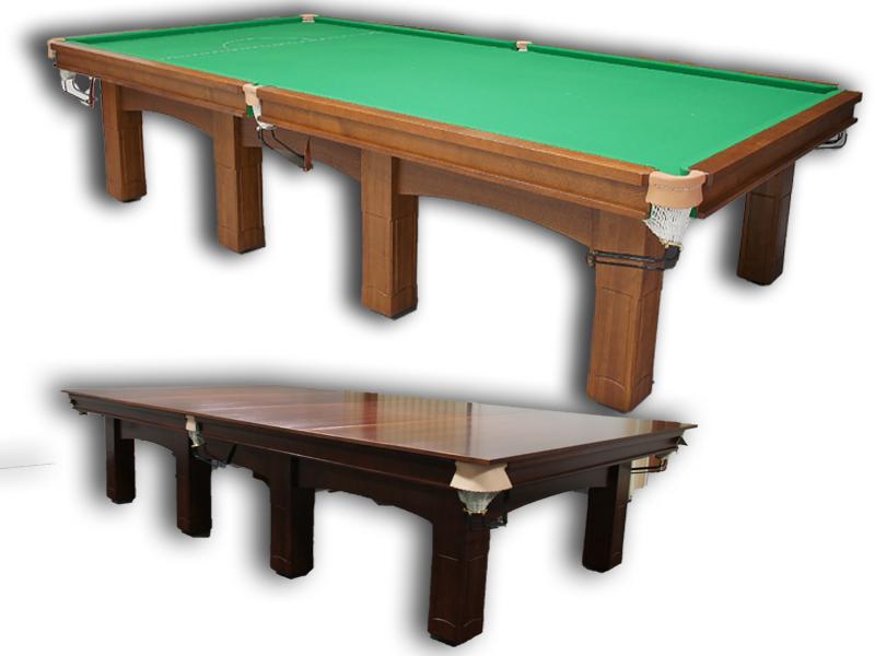 stoły Snooker wykonane z litego drewna