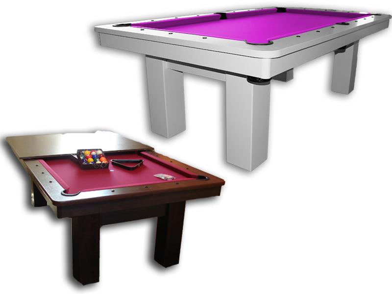 stoły z drewna i płyta laminowana