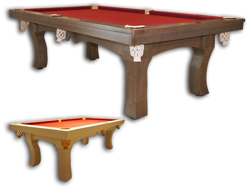 stoły wykonane z drewna